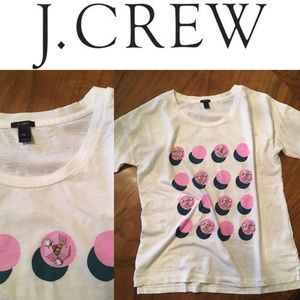 J.Crew Cotton Crewneck Embellished T-Shirt